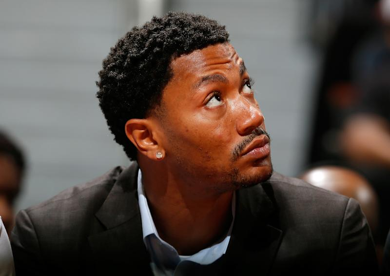 3c7f59e9655 Derrick Rose doesn t plan to recruit Carmelo Anthony to Bulls