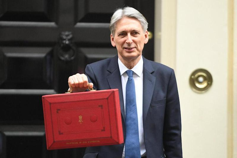 Budget: Philip Hammond before giving his first Spring statement: Jeremy Selwyn