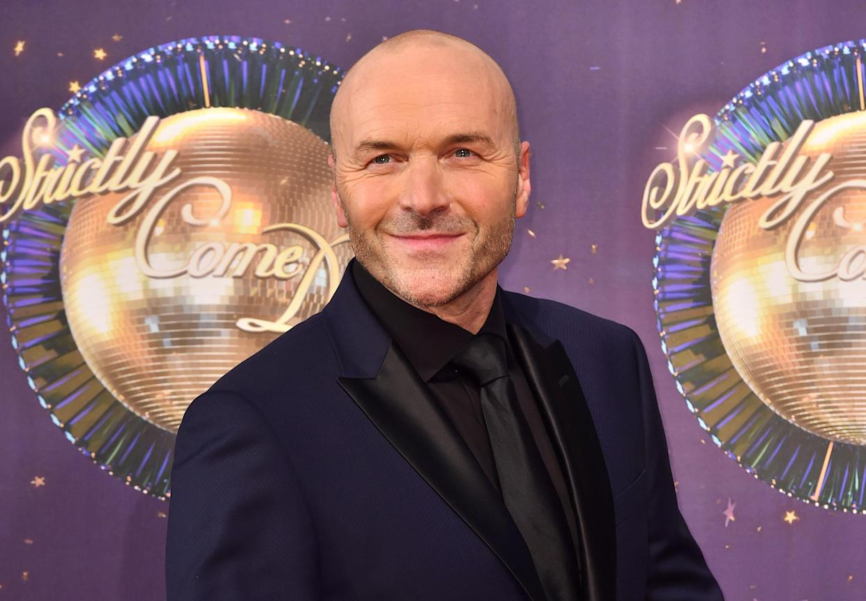 Simon Rimmer at the launch of Strictly Come Dancing 2017 at Broadcasting House in London.