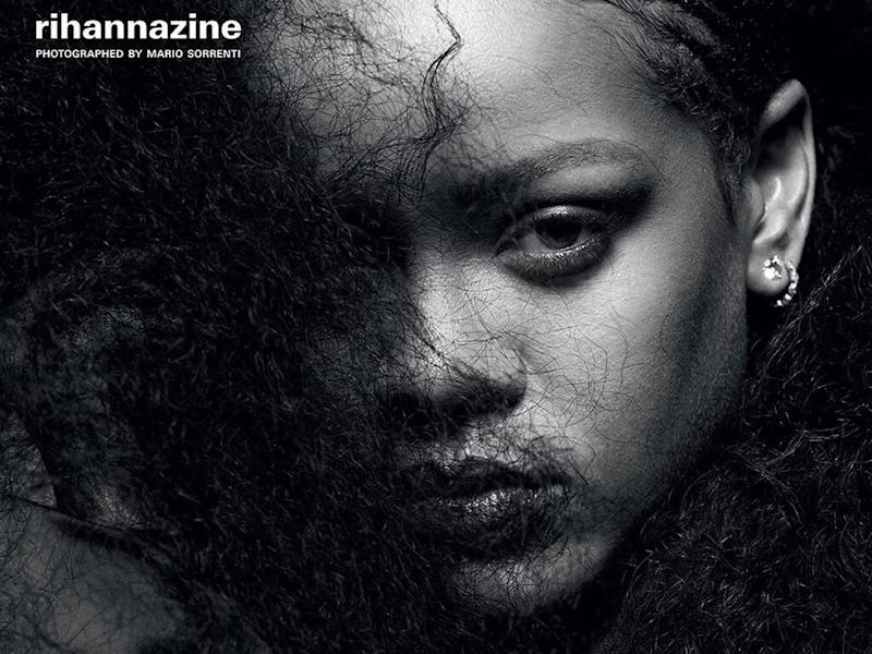 Rihanna collaborates with i-D magazine on special issue