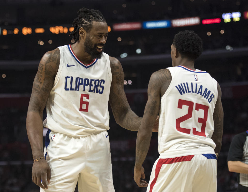 The Clippers run the risk of losing both DeAndre Jordan and Lou Williams at season's end. (AP)
