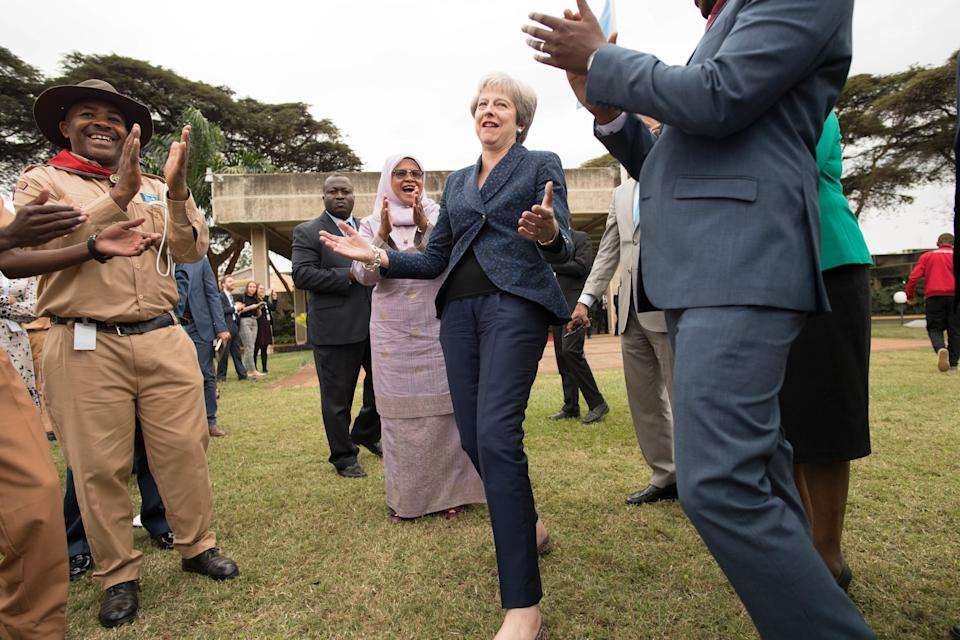 <em>Mrs May's moves have won some people over and left others cringing (Picture: PA)</em>
