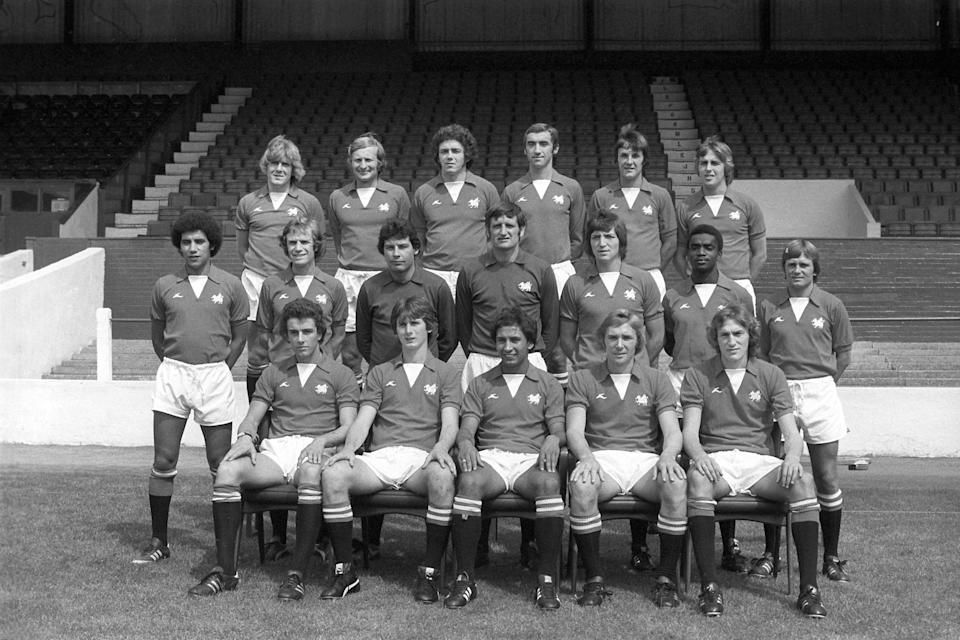 Bobby Fisher (middle row, far left), Laurie Cunningham (middle row, one in from right) and Ricky Heppolette (bottom row, centre) were a key part of George Petchey's Leyton Orient team (PA Archive/PA) (PA Archive)