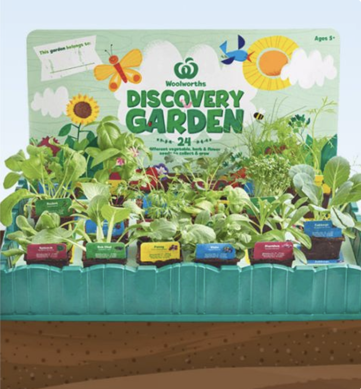 Woolworths will relaunch its popular Discovery Garden next week. Source: Woolworths