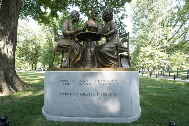 NY's Central Park inaugurates statue of 'real women,' a first