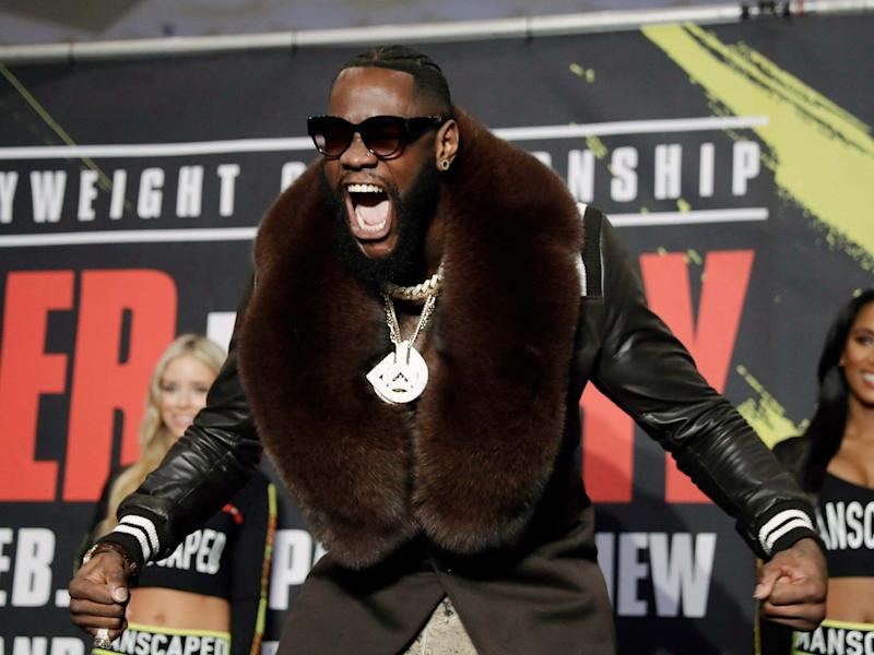 Deontay Wilder is undefeated in 43 professional heavyweight fights: AP