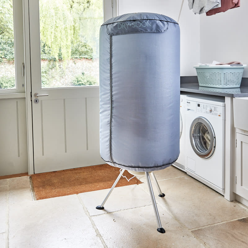The best part is the Drying Pod will conceal your undies when guests come to visit on laundry day.  (Lakeland)