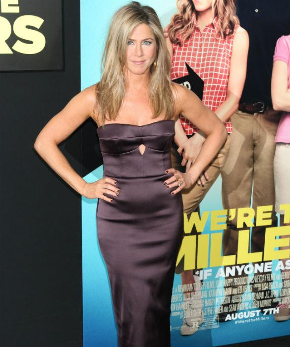 Look Away, Justin Theroux! Jennifer Aniston Talks Kissing 20 Year Old Will Poulter In 'We're The Millers'