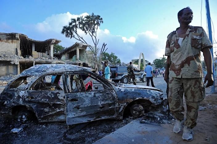 Somalia's Shebab have been blamed for a spate of car bomb attacks in Mogadishu (AFP Photo/Mohamed Abdiwahab)