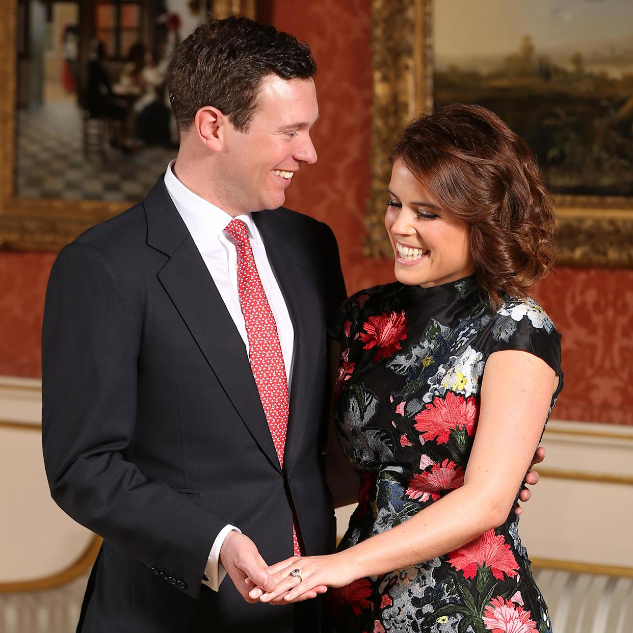 Princess Eugenie and Jack got engaged in January and are set to tie the knot in a matter of weeks. Photo: Getty