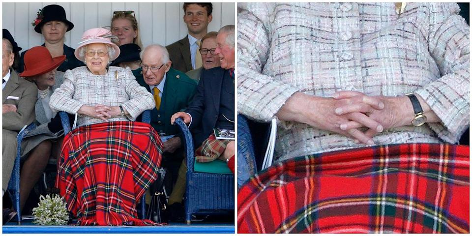"""<p>The queen follows this rule to a T. According to Essie, she's been wearing """"ballet slippers,"""" a pale pink sheer-finish nail polish shade, for nearly three decades! (Photos: Getty Images) </p>"""