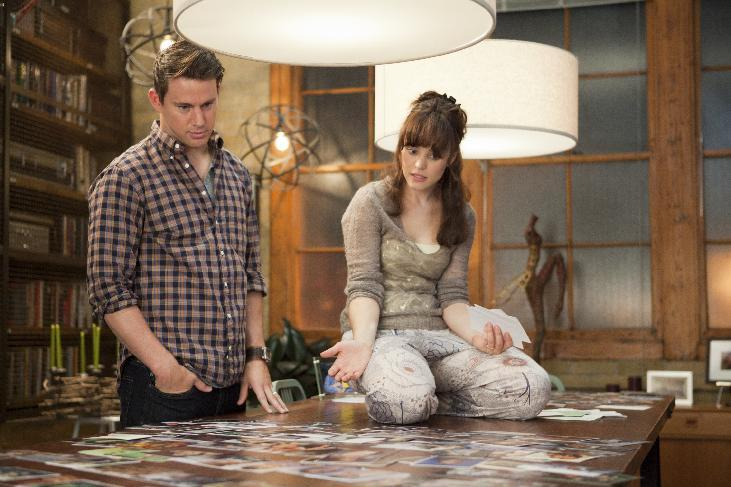"In this image released by Columbia Pictures, Rachel McAdams, right, and Channing Tatum are shown in a scene from ""The Vow."" (AP Photo/Columbia Pictures/Sony, Kerry Hayes)"