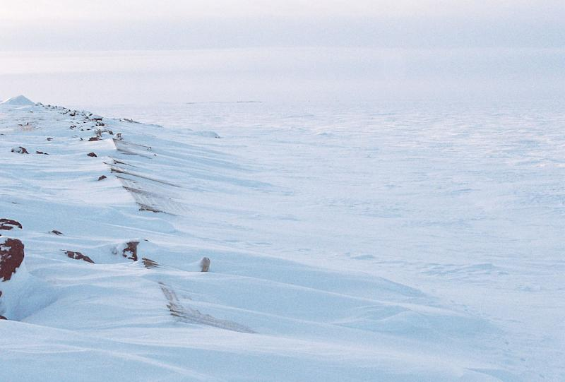 A photograph of a landscape from the Inuvik Region of the Northwest Territories