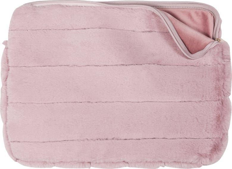 """<br><br><strong>MYTAGALONGS</strong> Faux Fur 15-Inch Laptop Sleeve, $, available at <a href=""""https://go.skimresources.com/?id=30283X879131&url=https%3A%2F%2Fwww.nordstrom.com%2Fs%2Fmytagalongs-faux-fur-15-inch-laptop-sleeve%2F5790437"""" rel=""""nofollow noopener"""" target=""""_blank"""" data-ylk=""""slk:Nordstrom"""" class=""""link rapid-noclick-resp"""">Nordstrom</a>"""