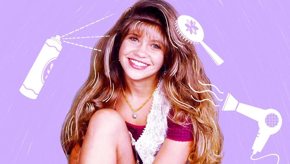 Find out Danielle Fishel's hair care must-haves.