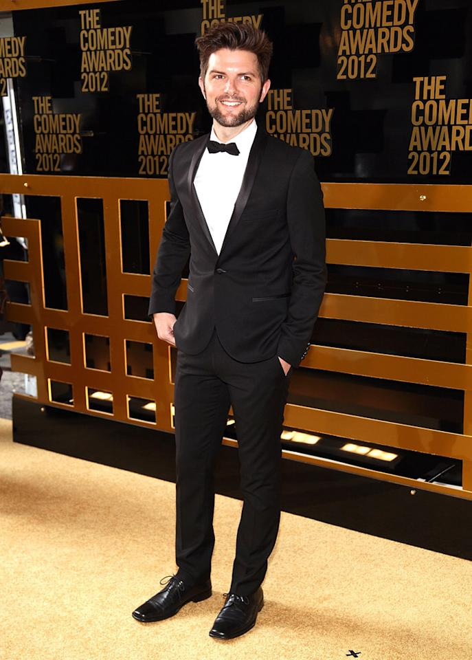 Adam Scott attends The Comedy Awards 2012 at Hammerstein Ballroom on April 28, 2012 in New York City.