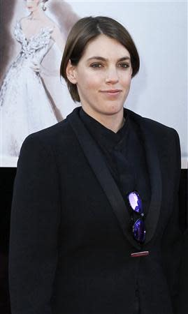 Producer Megan Ellison arrives at the 85th Academy Awards in Hollywood, California in this February 24, 2013 file photo. REUTERS/Lucas Jackson/Files