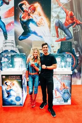 Citizen influencers Josh Peck & Sarah Merrill spend the day at NY Comic Con, celebrating all things Citizen and Marvel.