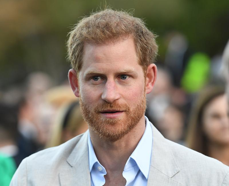 CAPE TOWN, SOUTH AFRICA - SEPTEMBER 24: Prince Harry, Duke of Sussex attends a reception for young people, community and civil society leaders at the Residence of the British High Commissioner, during the royal tour of South Africa on September 24, 2019 in Cape Town, South Africa. (Photo by Facundo Arrizabalaga - Pool/Getty Images)