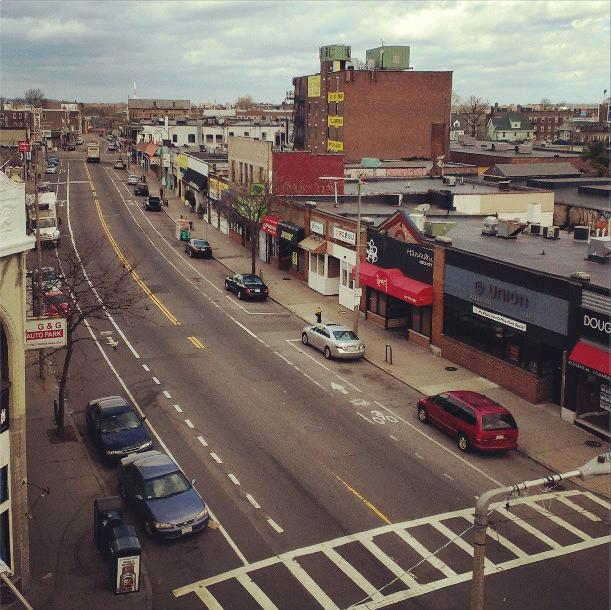 The last time Harvard Ave was this empty was during Nemo (via Twitter @mikeirvingmusic)