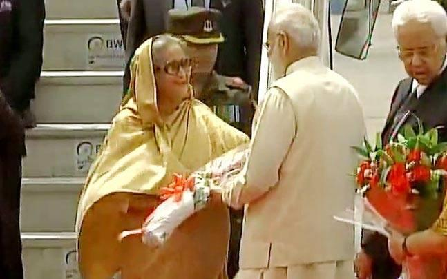 Hasina is on a four-day visit to India, during which at least 25  bilateral agreements including some in key areas of civil nuclear  cooperation and defence will be signed between India and Bangladesh.