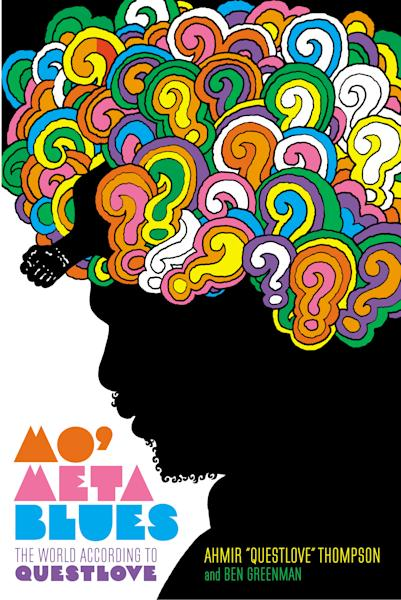 "This book cover image released by Grand Central Publishing shows ""Mo' Meta Blues: The World According to Questlove,"" by Ahmir ""Questlove"" Thompson and Ben Greenman. Questlove's memoir will be released on June 18. (AP Photo/Grand Central Publishing)"