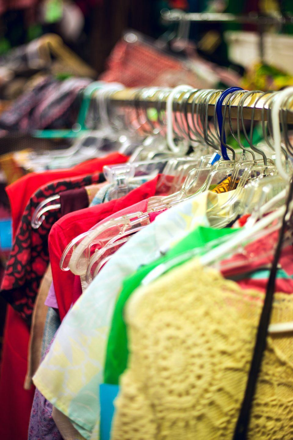<p>It's new to you! Buying used items, whether it's clothes or equipment, can reduce waste (packaging materials) and your spending. What's not to like?</p>