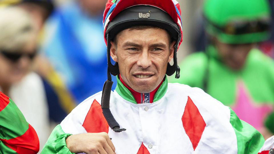Serg Lisnyy, pictured here during racing at Muswellbrook in 2019.