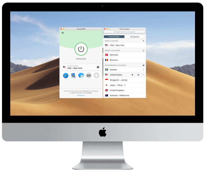 ExpressVPN is one of the best VPN services out there. (Image: ExpressVPN)