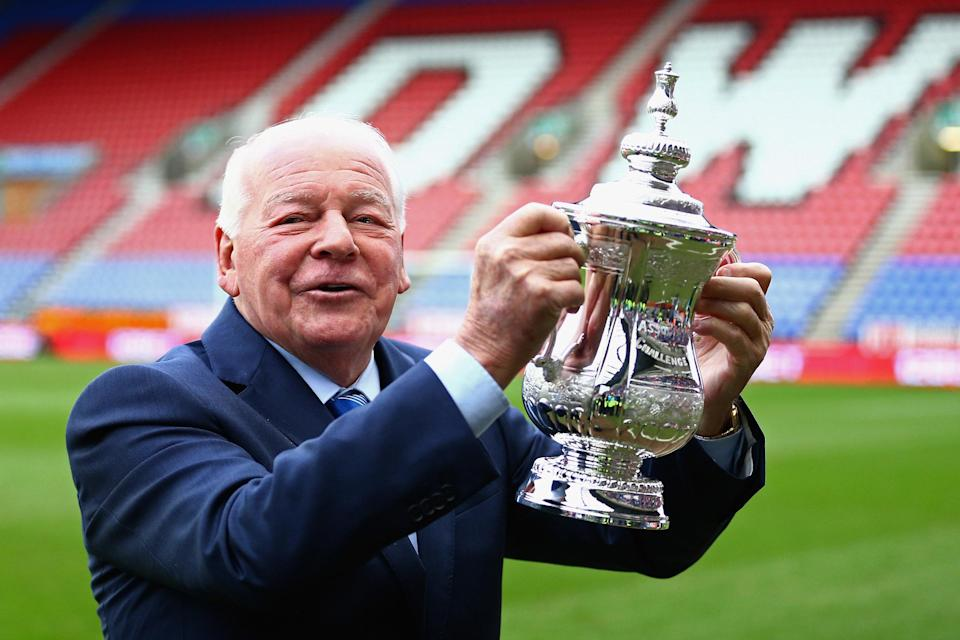 Wigan Athletic Chairman Dave Whelan, in 2014.