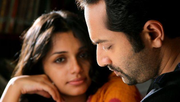 Ann Augustin and Fahadh Faasil in Artist.