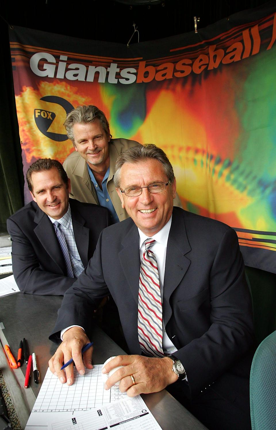 Duane Kuiper has been a longtime broadcaster for the Giants.