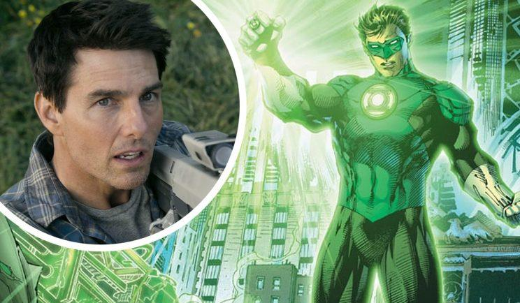 Tom Cruise as the Green Lantern? - Credit: DC/Universal Pictures