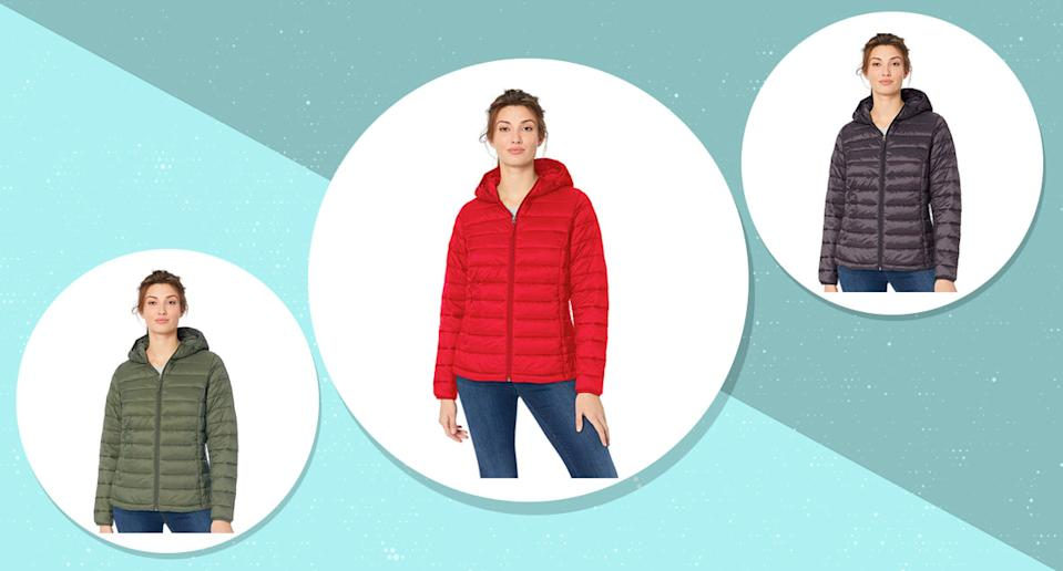Does the perfect packable puffer jacket exist? Yes, and it's waiting for you at Amazon! (Photo: Amazon)