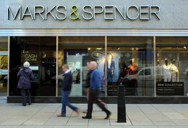 Marks amp Spencer results