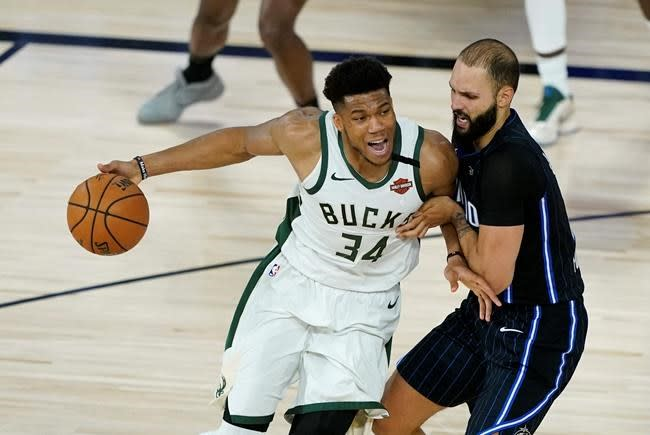Antetokounmpo voted NBA's Defensive Player of the Year