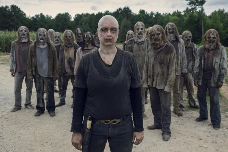 Samantha Morton as Alpha in The Walking Dead (Credit: Gene Page/AMC)