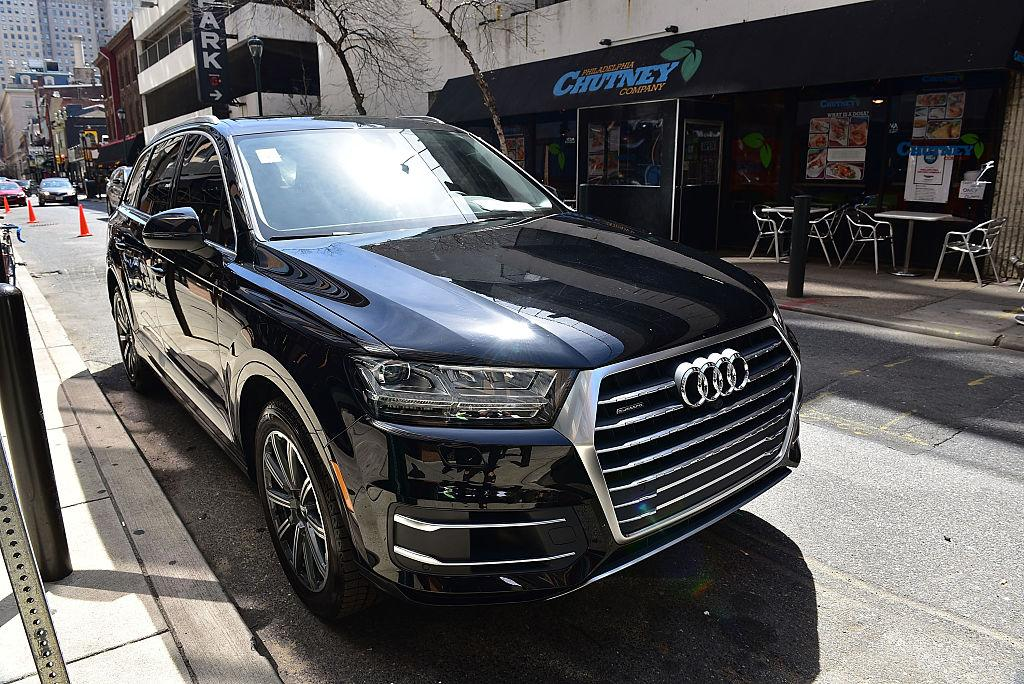 <p>Audi Q7 SUV<br />(Photo by Lisa Lake/Getty Images for Audi) </p>