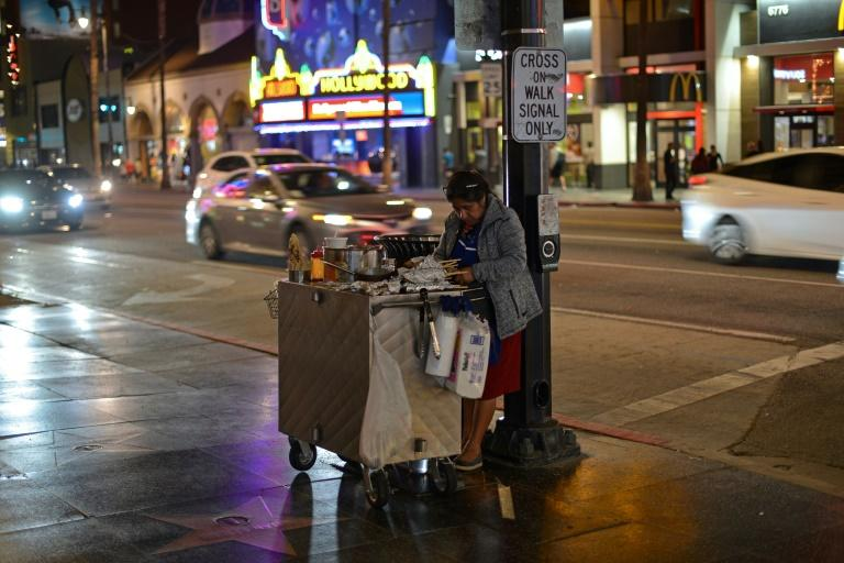 Women represent 80 percent of street vendors in the city, most of whom emigrated decades ago from Central and South America