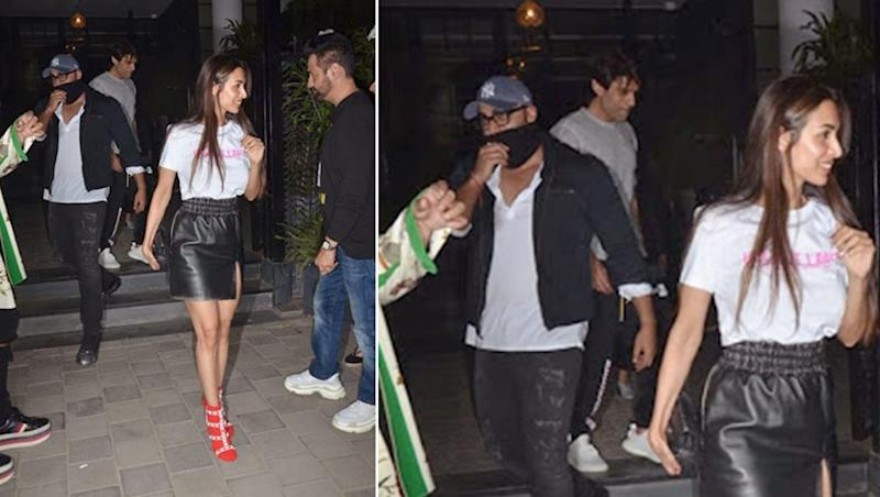 Why Is Arjun Kapoor Shying Away From Getting Clicked On His Outing With Ladylove Malaika Arora?