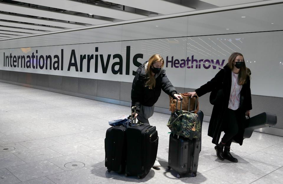 <p>Arrivals from certain countries will have to stay at designated quarantine hotels</p> (AP)