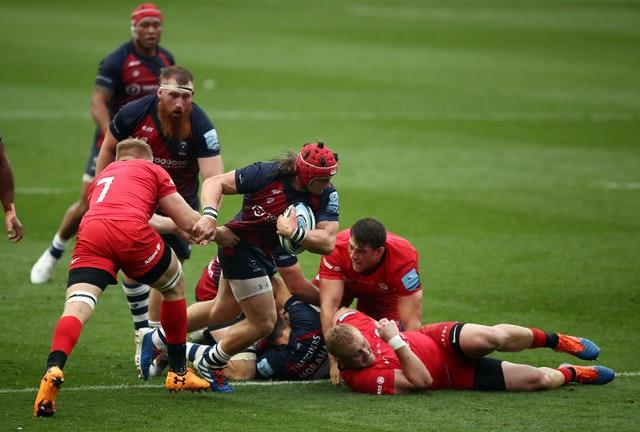 Second-placed Bristol overcame Saracens at Ashton Gate last weekend