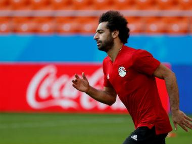 FIFA World Cup 2018: Egypt star Mohamed Salah in apparent discomfort during training despite being declared '100 percent fit'