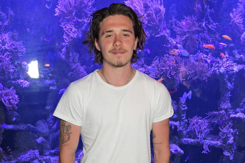 LONDON, ENGLAND - JULY 01: Brooklyn Beckham attends the launch of Wonderland Magazine's Summer 2019 issue at Sexy Fish on July 1, 2019 in London, England. (Photo by David M. Benett/Dave Benett/Getty Images)