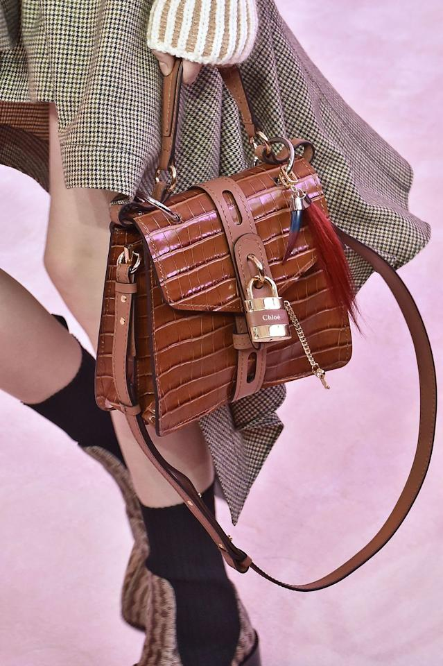 <p>Philo launched the bag in 2004. The design, with its distinctive padlock clasp, is one of the Noughties' most memorable styles, carried by everyone from Halle Berry to Nicole Richie. </p><p>Chloé's current creative director, Natacha Ramsay-Levi, recently brought the bag back, putting her own spin on it in 2019.</p>