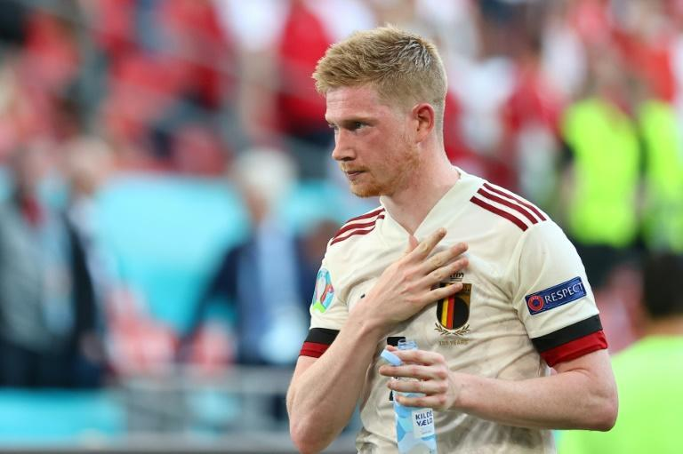 Super sub: Kevin De Bruyne scored one and created another in Belgium's 2-1 win over Denmark