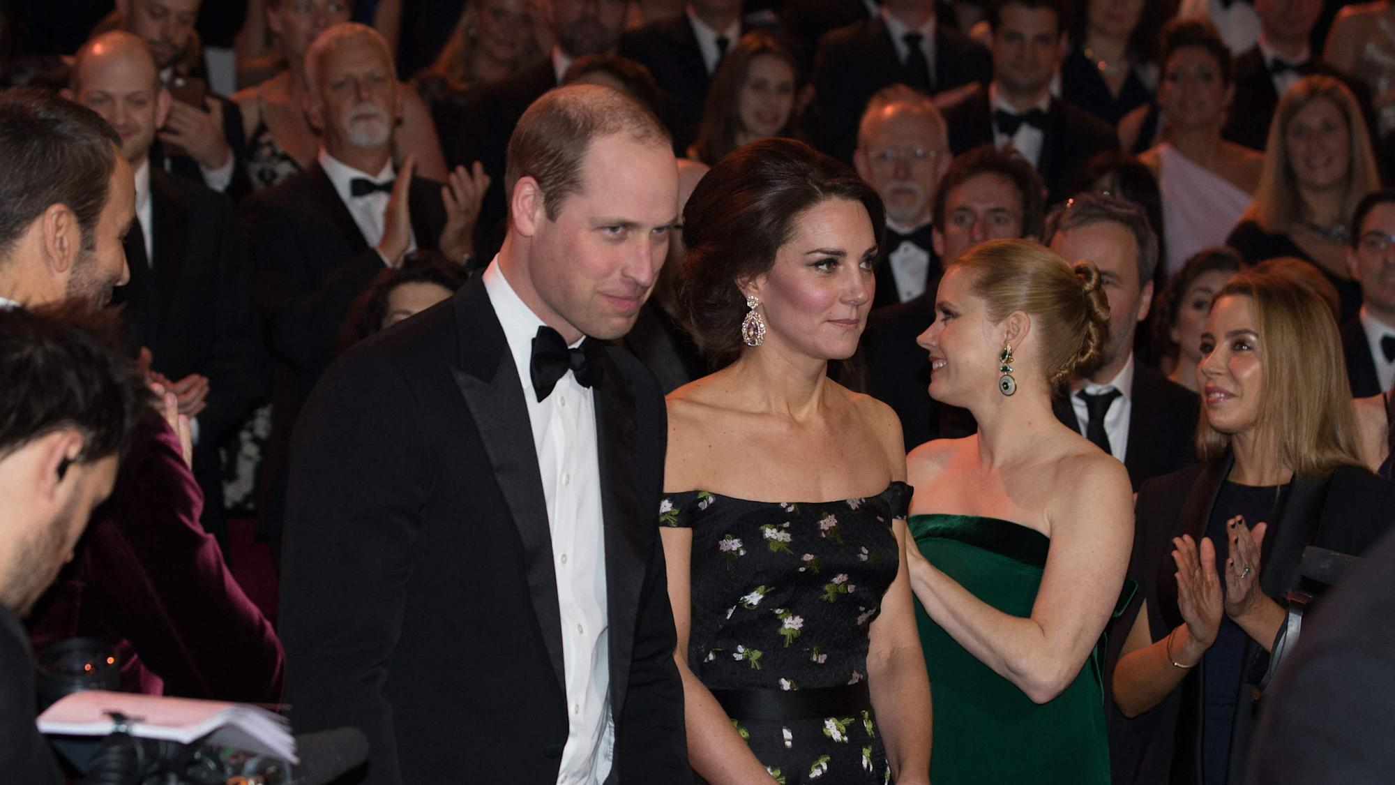 Bafta offers 'deepest sympathy' to royals as William withdraws from film awards