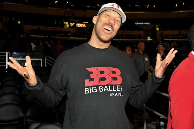 LaVar Ball made an appearance on CNN on Monday night. (Getty Images)