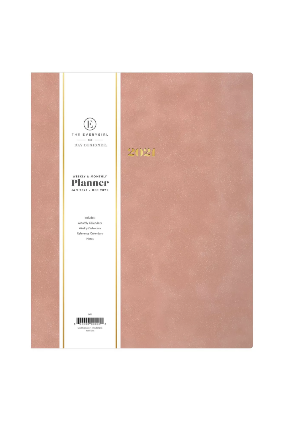 """<p><strong>The Everygirl</strong></p><p><strong>$16.99</strong></p><p><a href=""""https://www.target.com/p/2021-the-everygirl-planner-8-34-x-10-34-faux-leather-weekly-monthly-bookbound-desert-rose-blue-sky/-/A-80958626#lnk=sametab"""" rel=""""nofollow noopener"""" target=""""_blank"""" data-ylk=""""slk:SHOP IT"""" class=""""link rapid-noclick-resp"""">SHOP IT</a></p><p>The Everygirl's newly-launched planner and <a href=""""https://www.marieclaire.com/home/g34988928/best-wall-calendars/"""" rel=""""nofollow noopener"""" target=""""_blank"""" data-ylk=""""slk:wall calendar"""" class=""""link rapid-noclick-resp"""">wall calendar</a> collection with Day Designer, available at Target, includes this 8 x 10 blush pick for those of us who like to make sure we have plenty of space for our large handwriting. Other highlights from the collection include <a href=""""https://www.target.com/p/2021-the-everygirl-career-planner-7-34-x-9-34-weekly-monthly-wirebound-mist-blue-sky/-/A-80373236#lnk=sametab"""" rel=""""nofollow noopener"""" target=""""_blank"""" data-ylk=""""slk:The Career Planner"""" class=""""link rapid-noclick-resp"""">The Career Planner</a> and the <a href=""""https://www.target.com/p/2021-the-everygirl-30-day-challenge-planner-7-34-x-9-34-weekly-monthly-wirebound-blue-blue-sky/-/A-80373207#lnk=sametab"""" rel=""""nofollow noopener"""" target=""""_blank"""" data-ylk=""""slk:30 Day Challenge Planner"""" class=""""link rapid-noclick-resp"""">30 Day Challenge Planner</a>.</p>"""