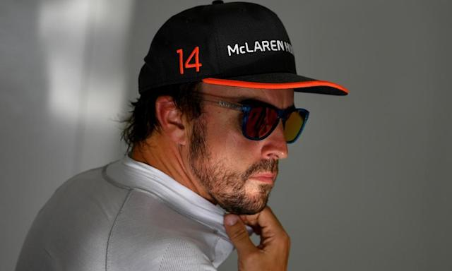"""<span class=""""element-image__caption"""">Fernando Alonso has been allowed to skip the Monaco Grand Prix but it did not stop the Spaniard complaining bitterly about his McLaren in Bahrain.</span> <span class=""""element-image__credit"""">Photograph: Andrej Isakovic/AFP/Getty Images</span>"""